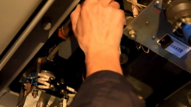 Аварийное включение ВБО на электровозе ЭП1П