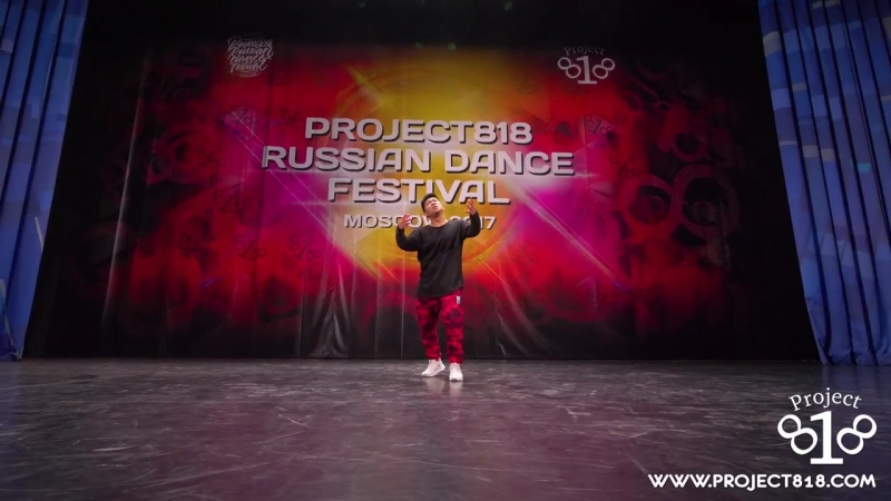 ЦОЙ ВЛАДИСЛАВ ★ SOLO PRO ★ Project818 Russian Dance Festival ★ December 2-3, Moscow 2017