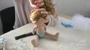 Handmade interior doll's Ballerina presentation   Interjerinės lėlytės - pristatymas