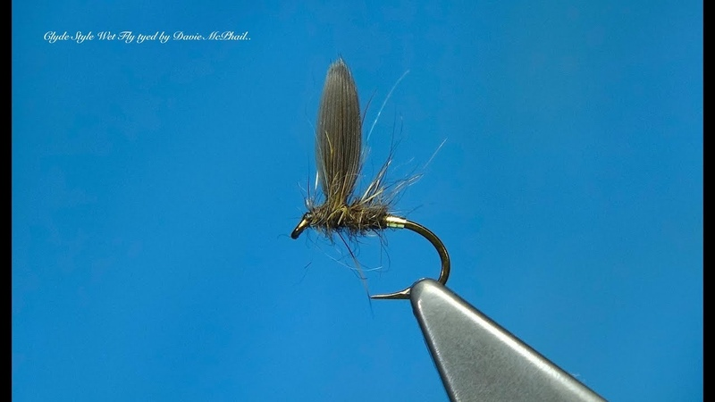 Tying a Clyde Style Wet Fly the Blae Hare's Lug with Davie McPhail