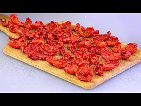 Большая СУШКА Вяленое МЯСО и помидоры сухой ОВОЩНОЙ бульон! Как я сушу и храню овощи