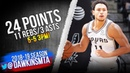 Bryn Forbes Full Highlights 2018.12.11 Spurs vs Suns - 24 Pts, 11 Rebs, 5-5 3PM! | FreeDawkins