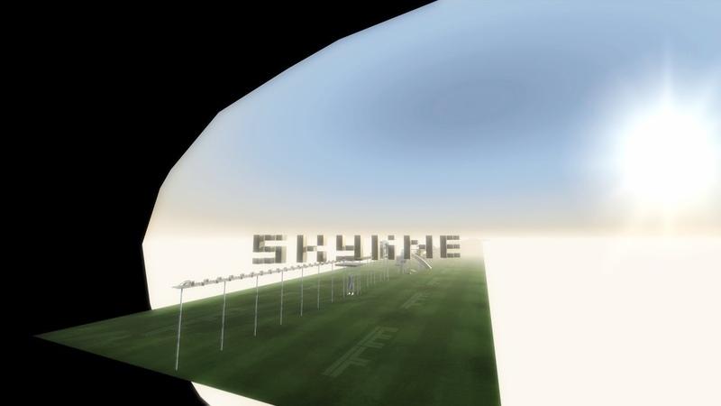 1024x32x32 SKYLINE by Simo 900 ThunderClap Trackmania PRESS FORWARD