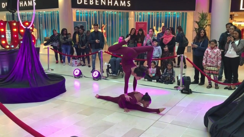 Pixie Duo - Contortion Acrobatic Duo
