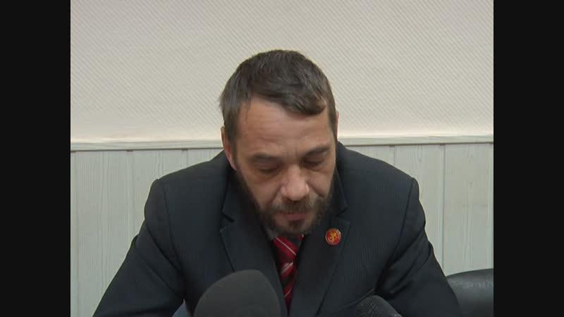 Начальник отдела транспорта и дорожного хозяйства Д.Ю. Некрасов о готовности коммунальных служб к гололёду