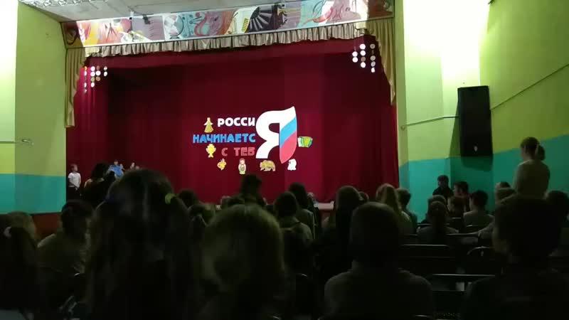 ДСООЦ Салют 3 отряд Сибирские медведи Конкурс представление Вперёд девчонки 24 11 18