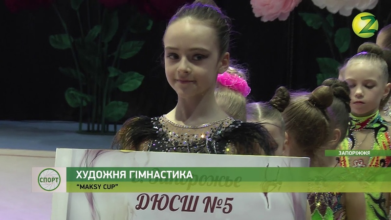 У Запоріжжі відбувся Всеукраїнський турнір із художньої гімнастики...