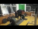 Игорь Парамоновтянет свой вес 99 9 кг 310 кг на 2 повторения без экипировки с использованием кистевых лямок