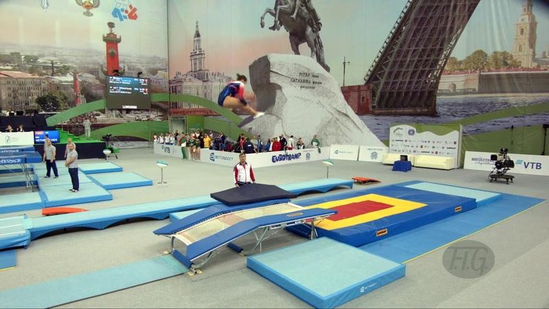 Чемпионат мира 2018 по прыжкам на батуте 33-й чемпионат SADKOVA Dana (RUS). Petersburg (RUS)