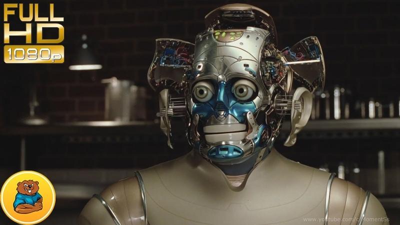 Живое лицо для робота Эндрю Мартина.Фильм«Двухсотлетний человек» 1999 год(Bicentennial Man)