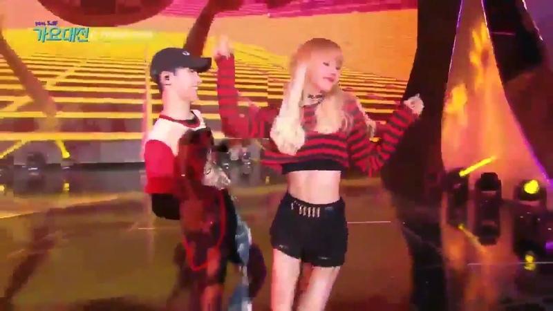 161226 BLACKPINK Lisa Street Dance @ SBS Gayo Daejun (Opening Show Rehearsal) 1