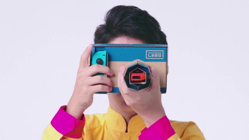 【Nintendo Labo】カメラ4
