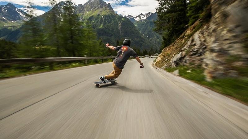 Raw Run in the Austrian Alps