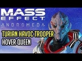 Turian Havoc Trooper Platinum BUILD and GUIDE Mass Effect Andromeda Multiplayer