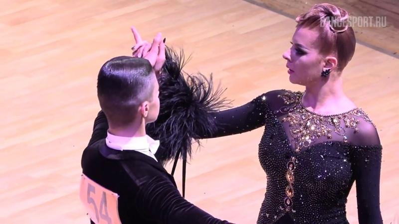 Zicoane Heler Sebastian Alin - Copos Anca ROU, Tango   WDSF Open Youth Standard