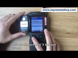 Testing the Kia 3 button smart key frequency and chip type via VVDI