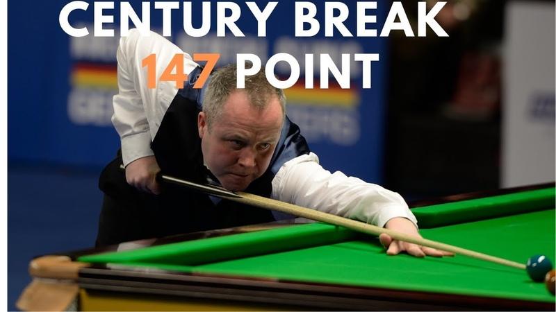 John Higgins Century Break 147 Point