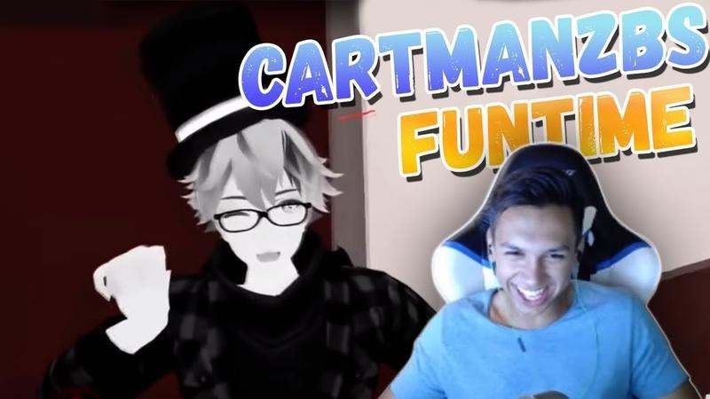 CartmanZbS смотрит видосики - FunTime 374 | Тест на психику | Пранк | VR CHAT