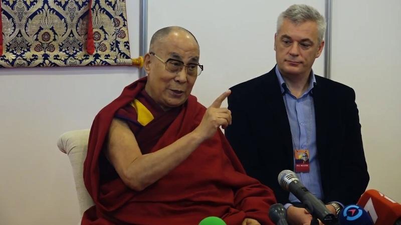 Далай-лама о трудностях в духовной жизни