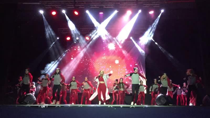 Открытие юбилейного концерта LibertyDance в ДС Юность
