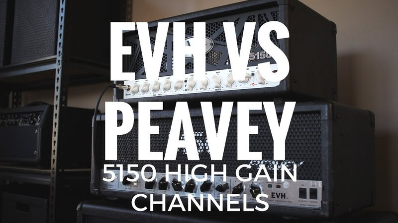 Peavey 5150 vs EVH 5150III - КТО КОГО?