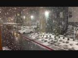 Лас-Вегас засыпало снегом