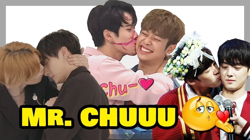 Male Kpop Idols Kissing Moments - EXO, Wanna One, BTOB, BTS, Astro, Monsta X, Got7, iKON more