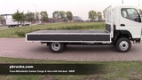 div3821 Fuso Mitsubishi Canter with flat bed - NEW