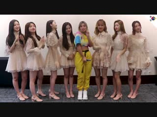 · Interview · 190215 · OH MY GIRL · Annyeong Brasil ·