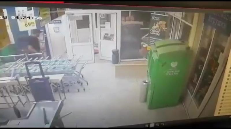 Подрыв банкомата в Зеленограде (1)