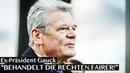 """Schnellmerker Joachim Gauck Konservativ sein ist ok """""""