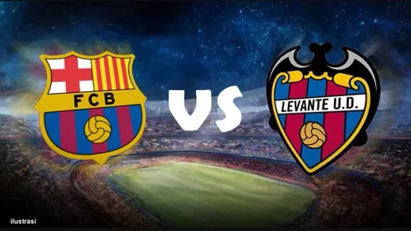 Скоро Барселона - Леванте (2-тайм)