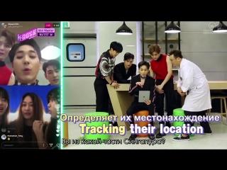 SHOW NU'EST W на шоу K-RUSH 3 Idol Master (Рус. саб)