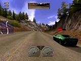 NFS Hot Pursuit 2 (2002) - Police Ford Crown Victoria (Дорога в Альпах, вперед)