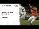 UFL S1W01 TDs and Highlights Madden NFL 19