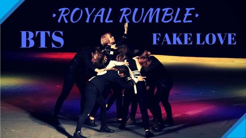 BTS (방탄소년단) - FAKE LOVE (ROYAL RUMBLE DANCE COVER)