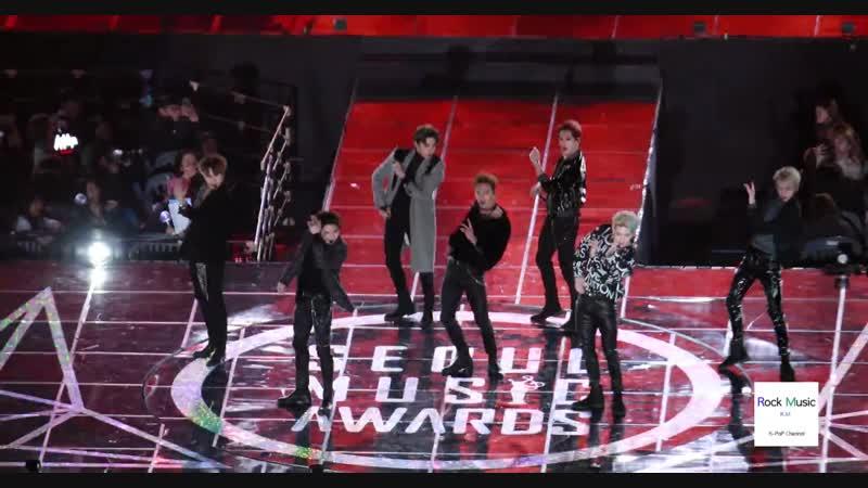 [VK][190115] MONSTA X - VCR Jealousy SHOOT OUT @ Seoul Music Awards 2019
