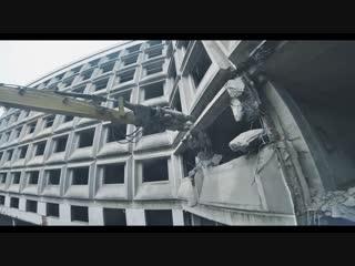 Снос ХЗБ. Кадры с гоночного коптера - DroneAdventures ✕ saursvepur