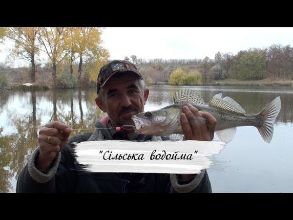 Ловля Судака на Сельском водоеме Стежинами рибалки №2 с Олегом Яворовичем
