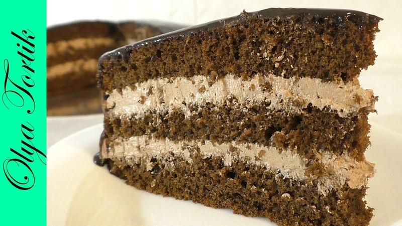 ТОРТ ПРАГА Пошаговый рецепт Рецепт шоколадного торта Olya Tortik Домашний Кондитер