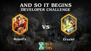 RoanFx(Japanese) vs Eraziel(Greek) - And So It Begins Developer Challenge
