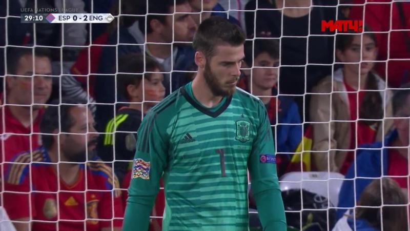 Испания – Англия. 0:2. Маркус Рэшфорд