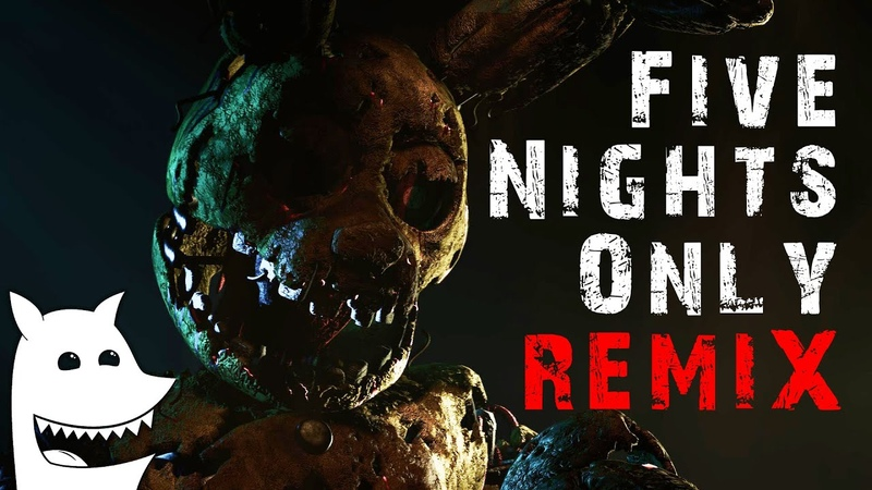 FNaF SFM Five Nights Only REMIX Roomie CG5 FNaF3 Song Animated by MrMautz