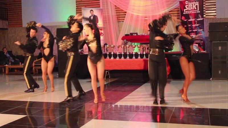Internacional Chile Salsa Congress 2017 - Adolfo Indacochea y Tania Cannarsa sus Latin Soul Dancer