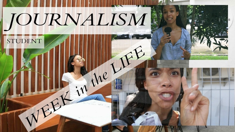 A WEEK IN THE LIFE OF A JOURNALISM STUDENT I VLOG I How to be a foreign correspondent