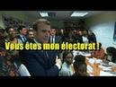 Macron : « je préfère donner la nationalité Française aux étrangers »
