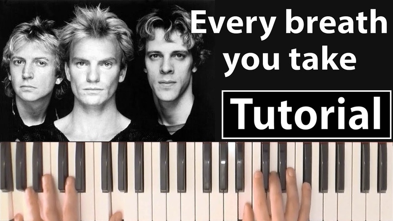 Como tocar Every breath you take(The Police) - Piano tutorial y partitura