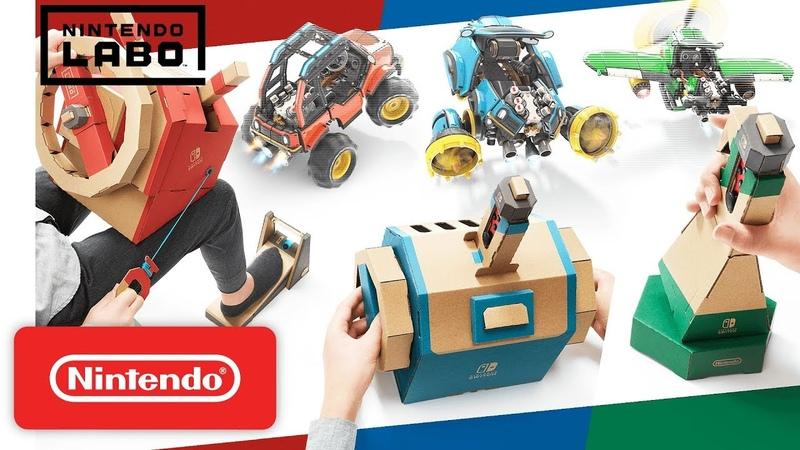 Nintendo Labo - Toy-Con 03 Vehicle Kit