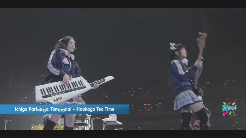 Ichigo Parfait ga Tomaranai - HTT (Houkago Tea Time) (K-ON! Live)