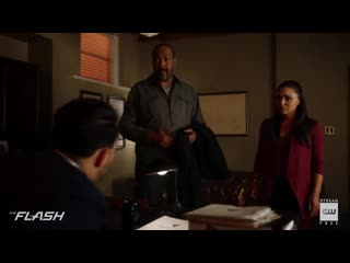 The flash - the girl with the red lightning scene - the cw
